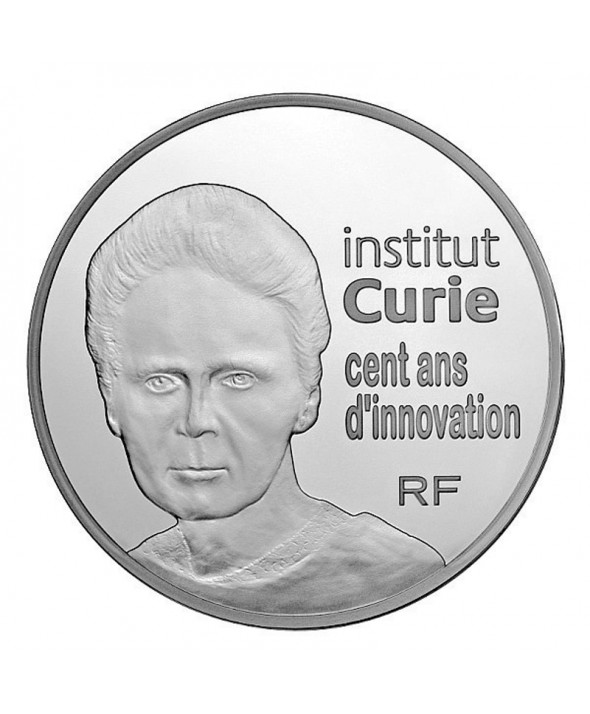 50 euros argent 5 onces &quot;Institut Curie&quot;