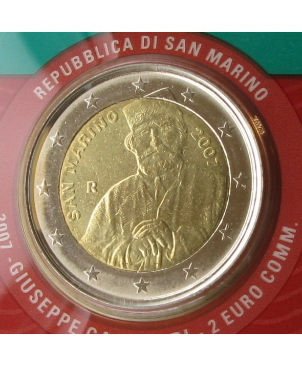 2 Euros Commémorative - Saint Marin 2007