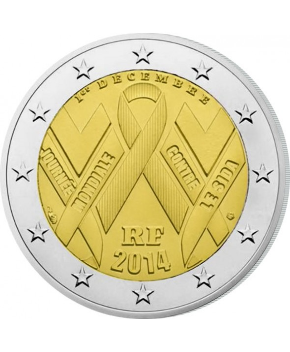 2 Euros Commémorative UNC - SIDACTION - France 2014