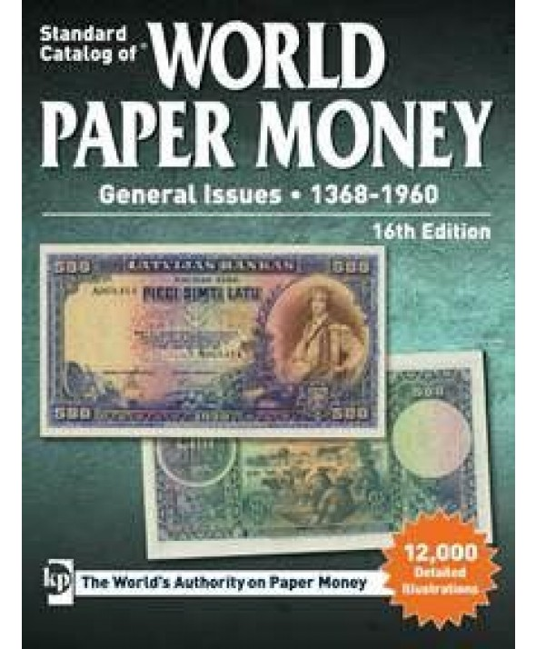 World Paper Money 1368 à 1960, 16ème Edition (2017)