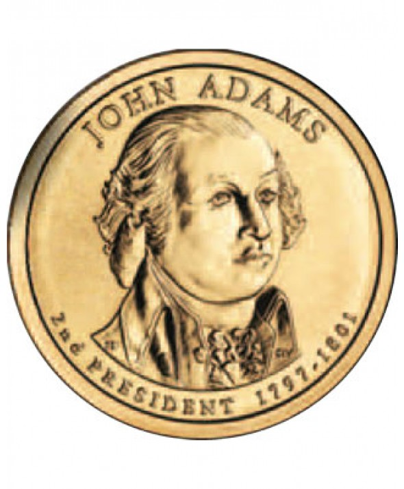 1 DOLLAR - JOHN ADAMS