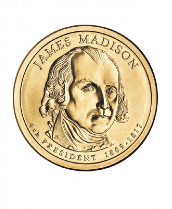 1 DOLLAR - JAMES MADISON