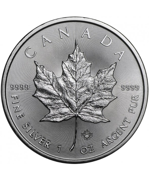 MAPLE LEAF - 1 Once argent 2017 Canada
