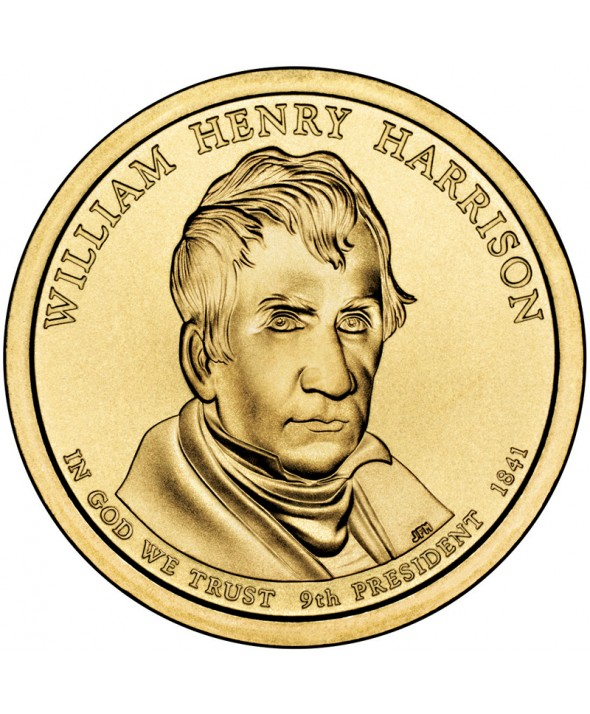 1 Dollar - William Henry Harrison