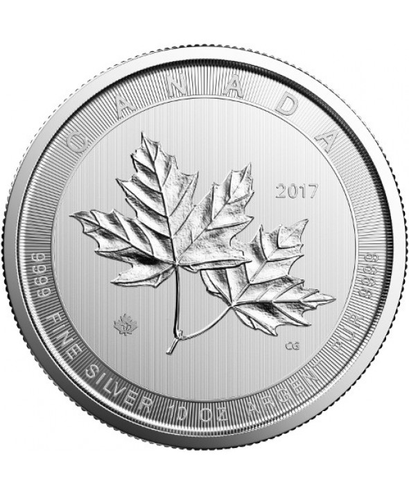 Maple Leaf - 10 Onces Argent 2017 CANADA