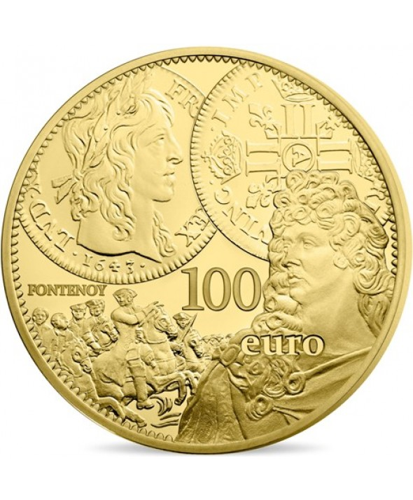 LE LOUIS D'OR - 100 Euros OR BE 2017 FRANCE (MDP)