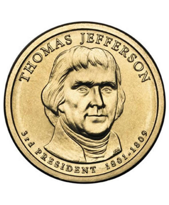 1 DOLLAR - THOMAS JEFFERSON