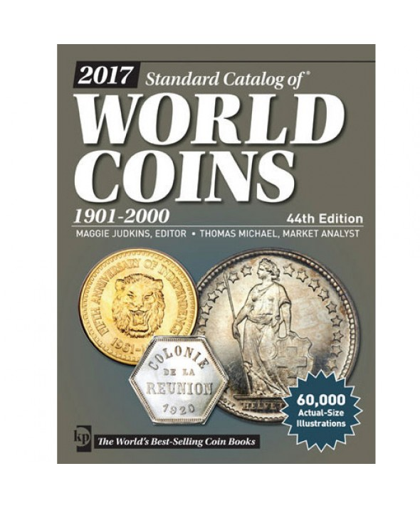 World Coins 1901 à 2000, 44ème Edition (2017)