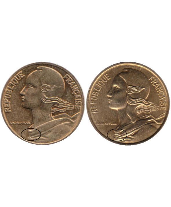 5 Centimes - Type Marianne - France
