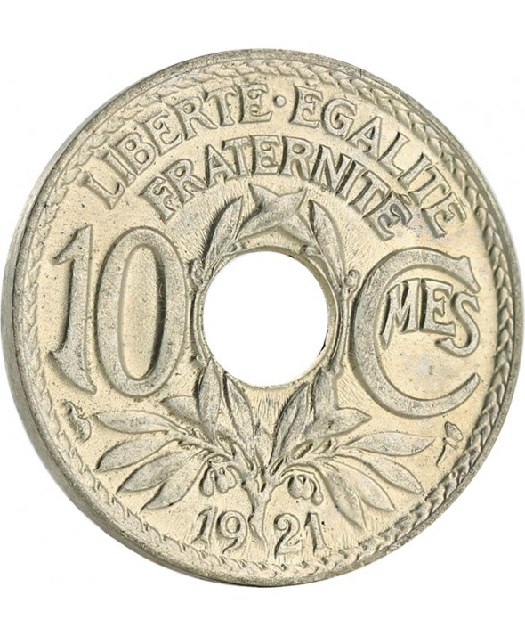 10 Centimes - Type Lindauer - France 1921