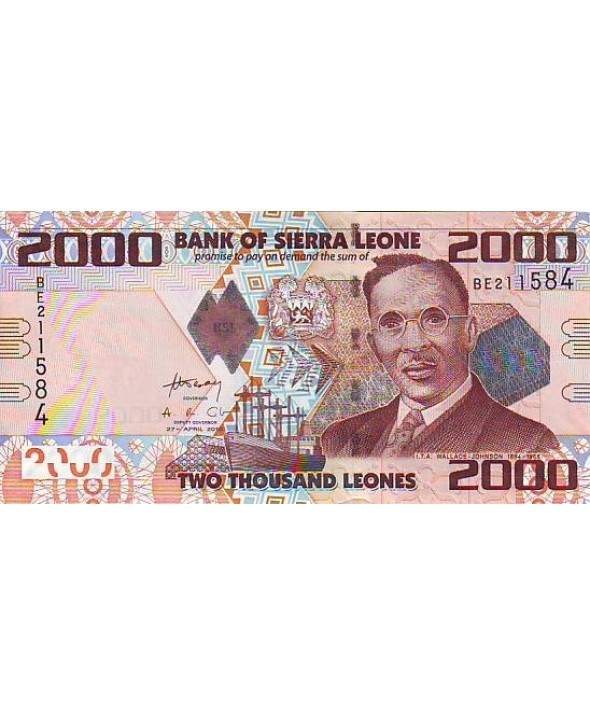 2000 Leones, I.T.A. Wallace Johnson