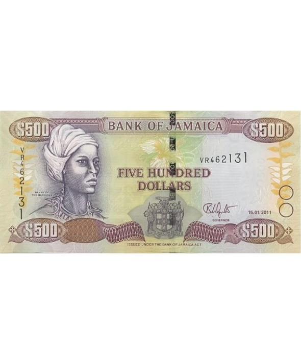 500 Dollars, Nanny of the Maroons - Port Royal