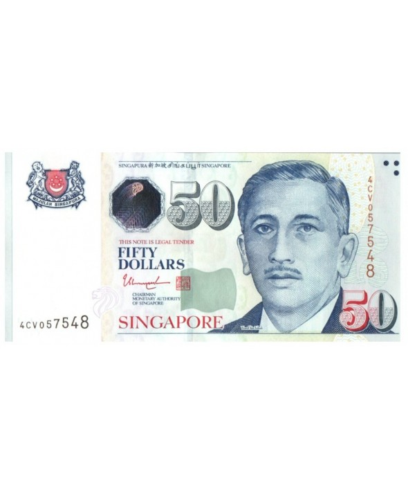 50 Dollars, E.Y. bin Ishak - Arts (2 triangles)