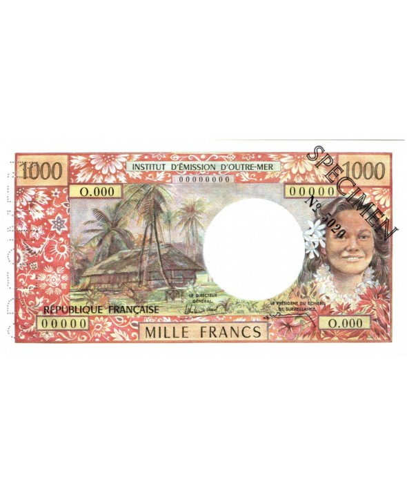 1000 Francs, Tahitienne - Hibiscus