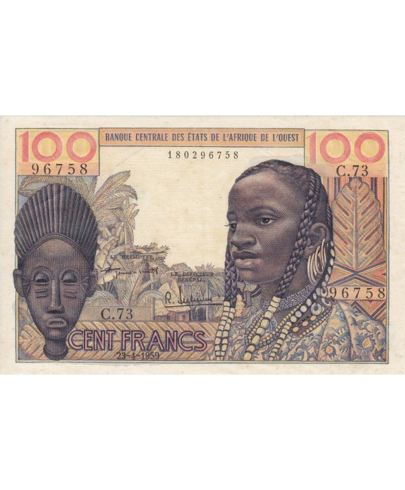 100 Francs, Masque