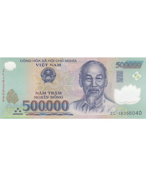 500000 Dong Ho Chi Minh - Polymer - 2018 - Neuf