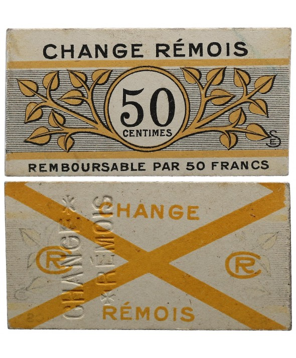 50 Centimes - Reims - P.NEUF