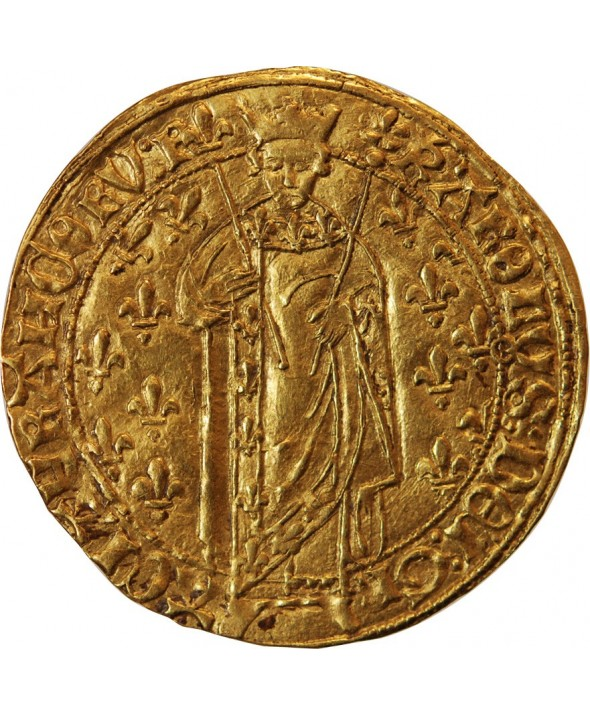 CHARLES VII - ROYAL D'OR TOURS 1422 / 1461