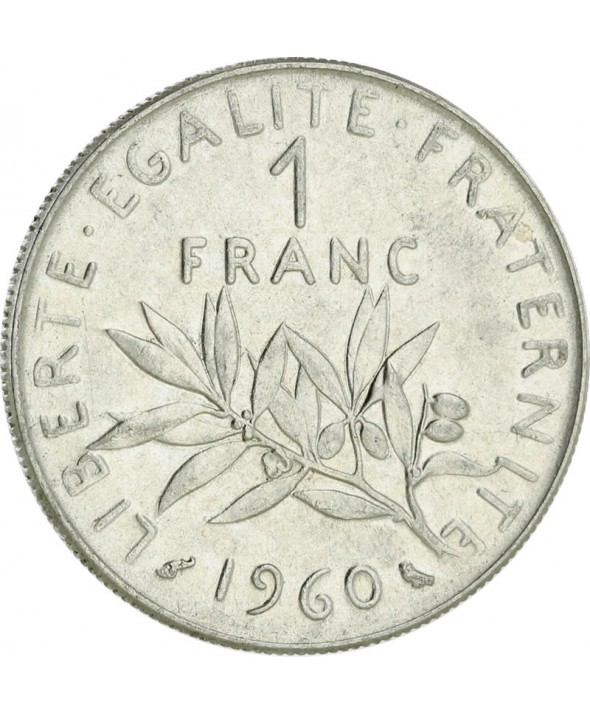 1 Franc Semeuse FRANCE 1960 (SUP)