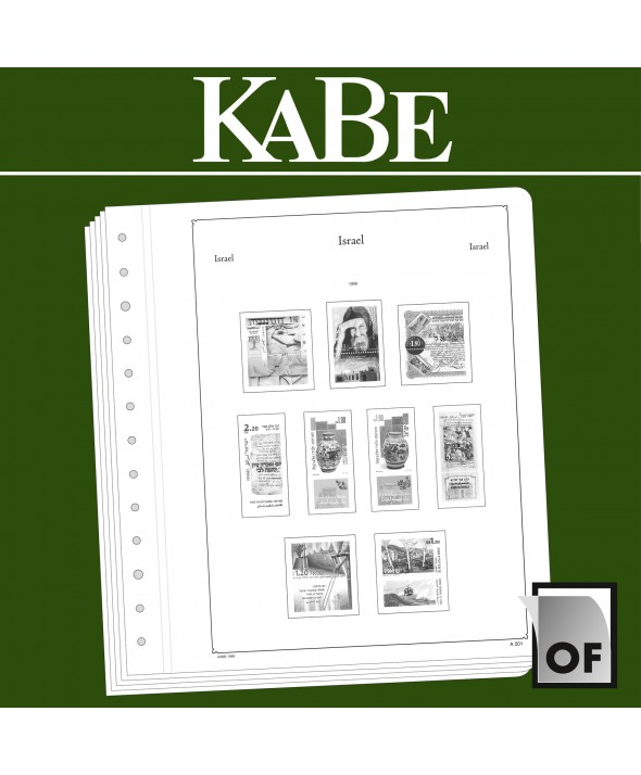 KABE feuilles complémentaires OF Israël avec TAB 2013
