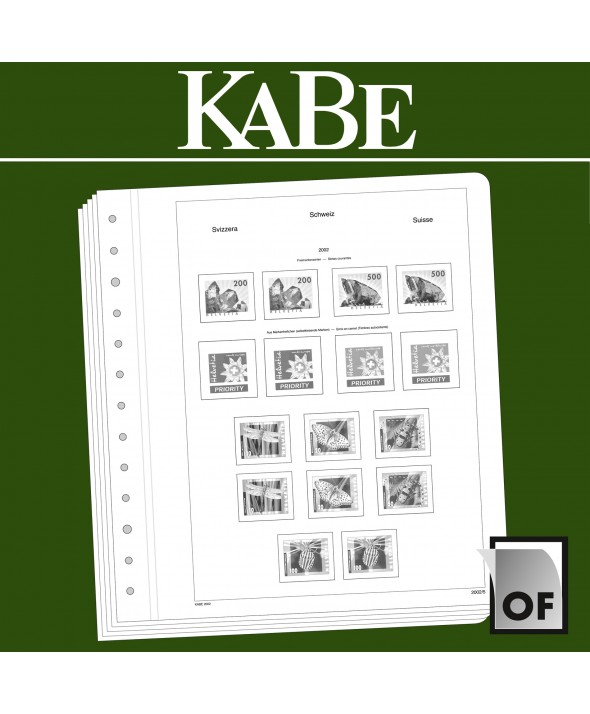 KABE feuilles complémentairesOF Suisse BI-Collect 2015