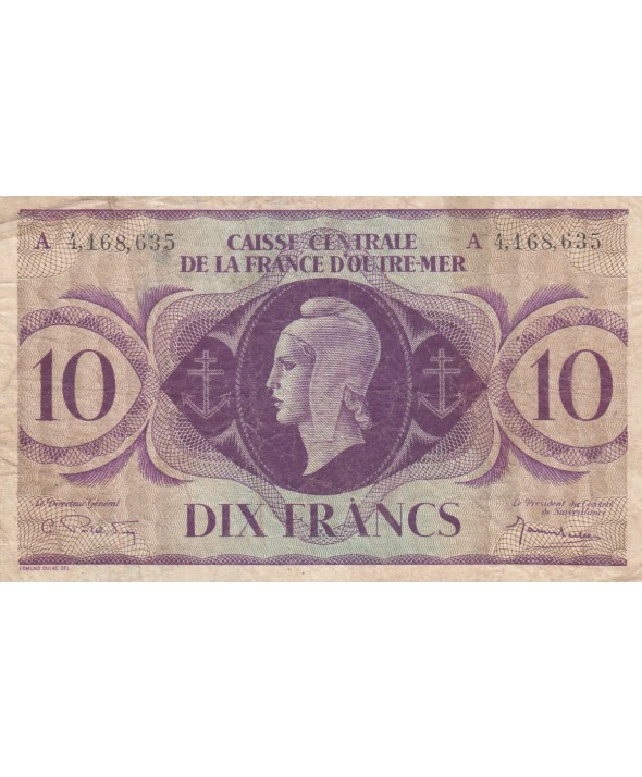 10 Francs 1944 - Marianne - A. 4,168,635