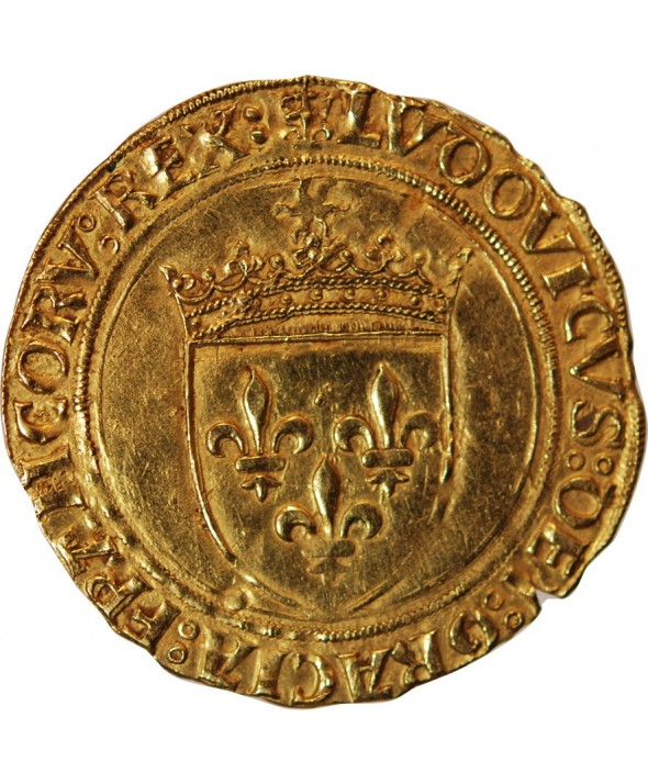 LOUIS XII - ECU D'OR AU SOLEIL PARIS 1498 / 1514