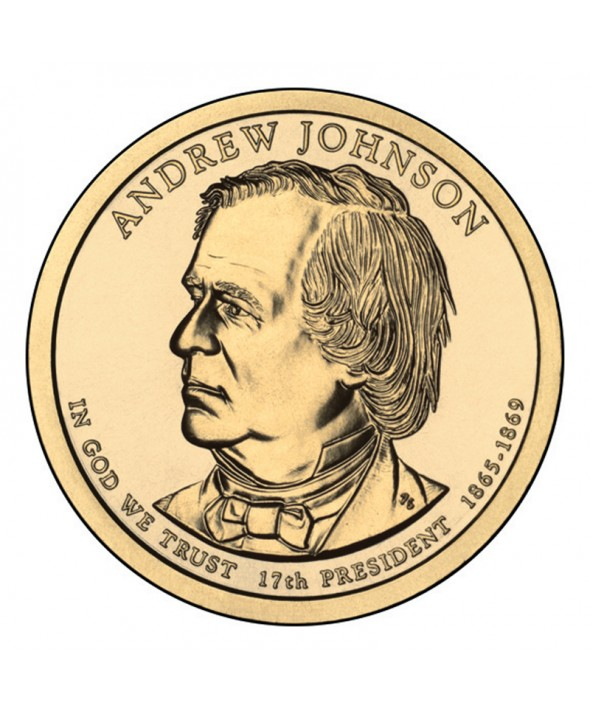 1 Dollar USA 2011 - Andrew Johnson
