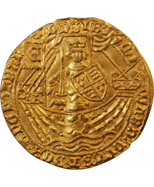 ANGLETERRE, EDOUARD IV - NOBLE D'OR A LA ROSE 1461 / 1483
