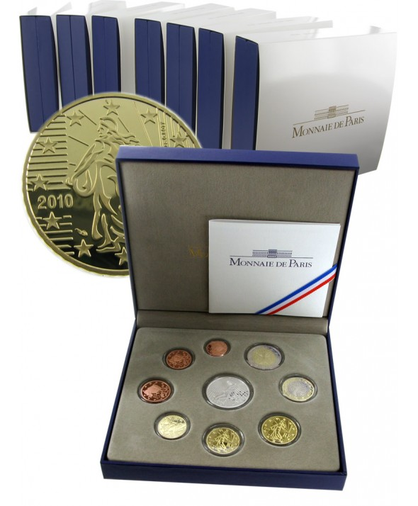 Coffret Belle Epreuve France 2010
