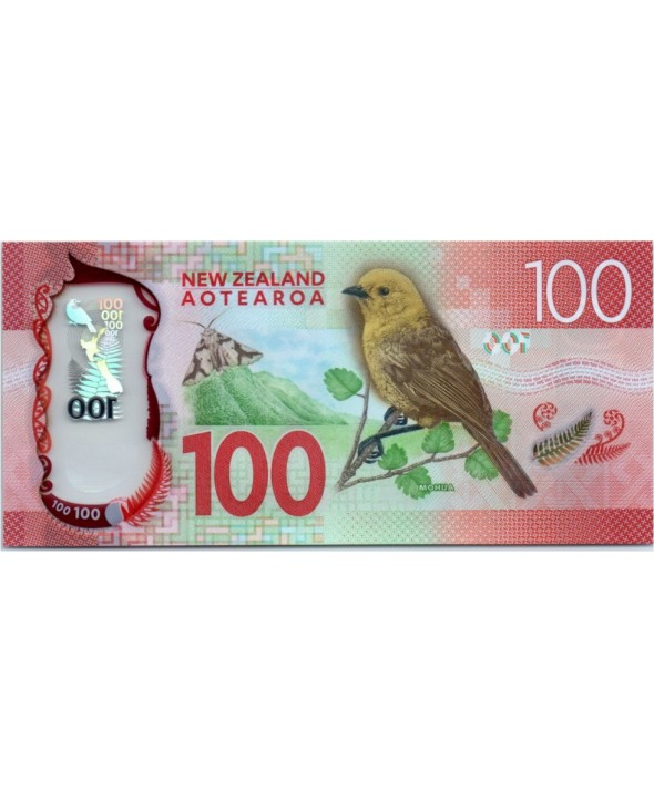 Nouvelle-Zélande 100 Dollars, Lord Rutherford of Nelson - Mohua - 2016
