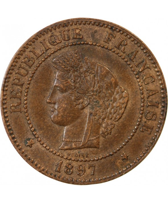 CERES - 5 CENTIMES 1897 A PARIS