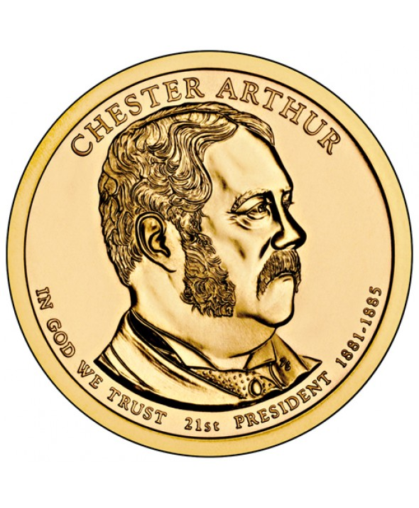1 Dollar USA 2012 - Chester Arthur