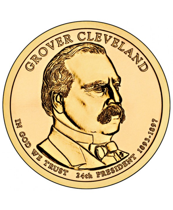 1 Dollar USA 2012 - Grover Cleveland (2nd mandat)