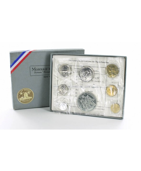 Coffret FDC Franc FRANCE 1973