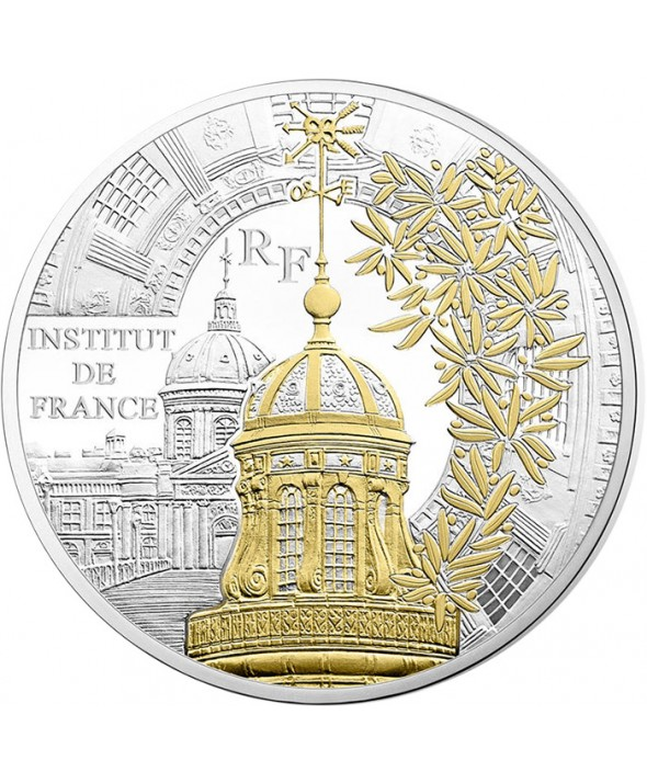 Institut de France 50 Euros Argent BE FRANCE 2016 (MDP)