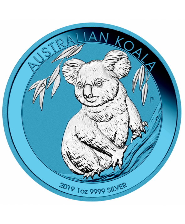 Koala Space Blue - 1 Once Australie 2019