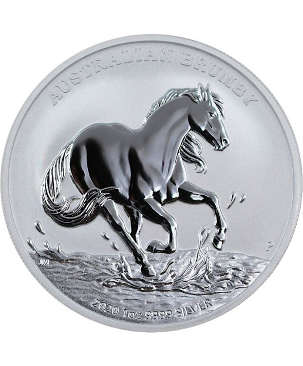 1 Once Argent - Brumby (Cheval) Australie 2020
