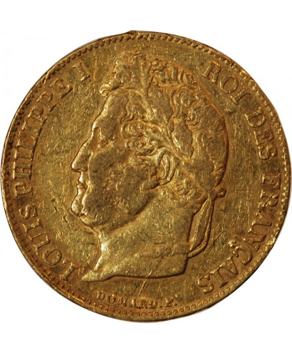 LOUIS PHILIPPE - 20 FRANCS OR 1834 L BAYONNE