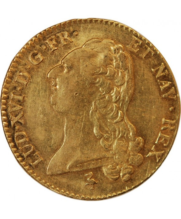 LOUIS XVI - DOUBLE LOUIS D'OR 1786 A PARIS