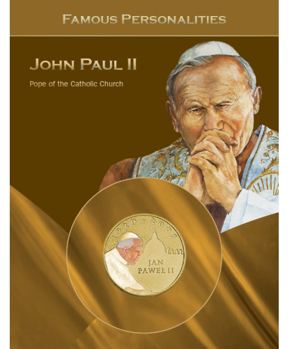 Jean Paul II - 2 Zlotych 2005 Pologne Couleur