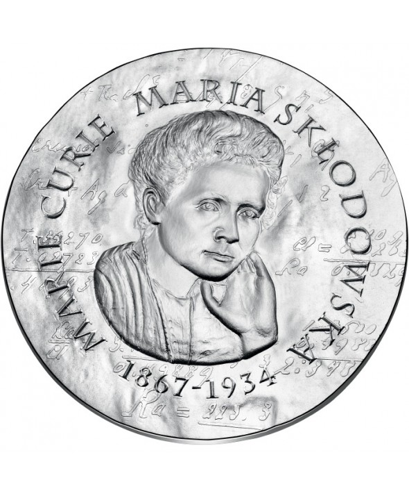 Marie Curie - 10 Euros Argent BE 2019 FRANCE (MDP)