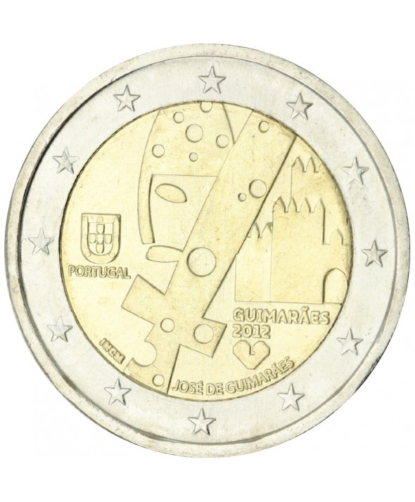2 Euros Commémorative - Portugal 2012 - Guimares