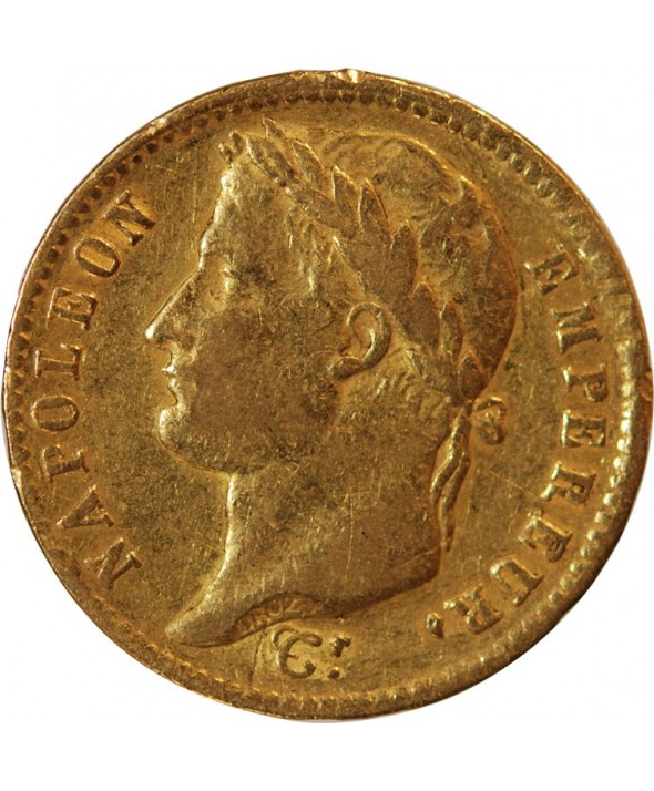 NAPOLEON Ier - 20 FRANCS OR 1811 W LILLE