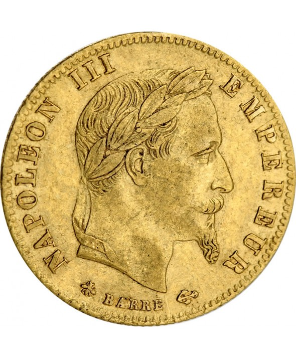 5 Francs Napoléon III - Second Empire
