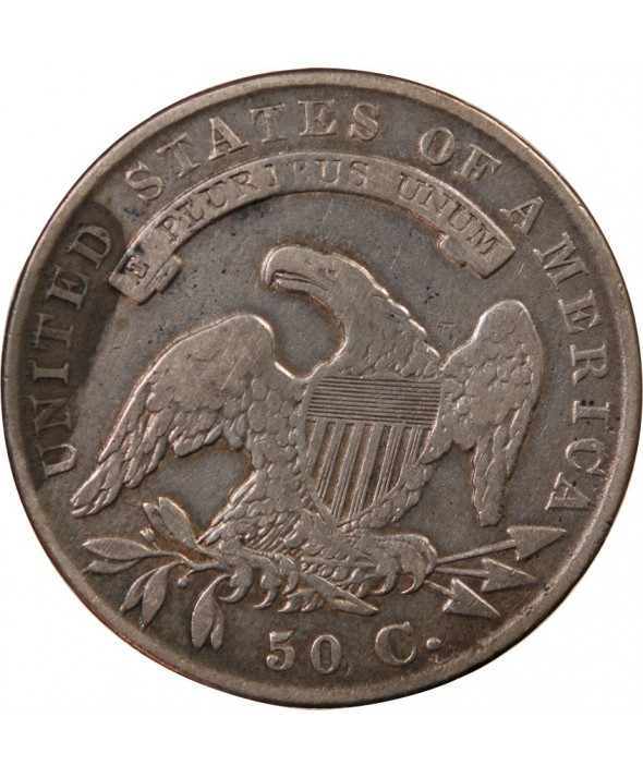 """USA - 1/2 DOLLAR ARGENT """"Capped Bust"""" 1834"""