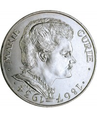 100 Francs Commémo. Marie Curie FRANCE 1984 (SUP)