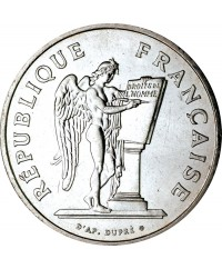 100 Francs Droits de l'Homme FRANCE 1989 (SUP)