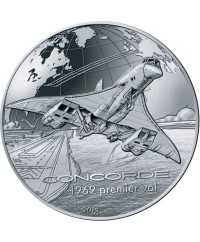 Concorde - 10 Euros Argent BE 2019 FRANCE (MDP)