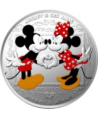 MICKEY ET SES AMIS - 10 Euros Argent BE FRANCE 2018 (MDP)
